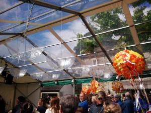 Carnival umbrellas